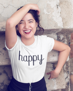 Happy T-Shirt - White