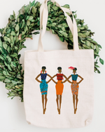 Poster Girls Cotton Tote Bag