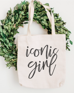 Iconic Girl- Cotton Tote Bag