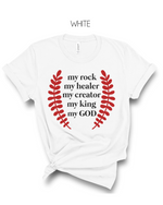 My God T-Shirt - More Color Options