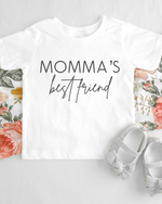 Momma's Best Friend Short Sleeve Tee