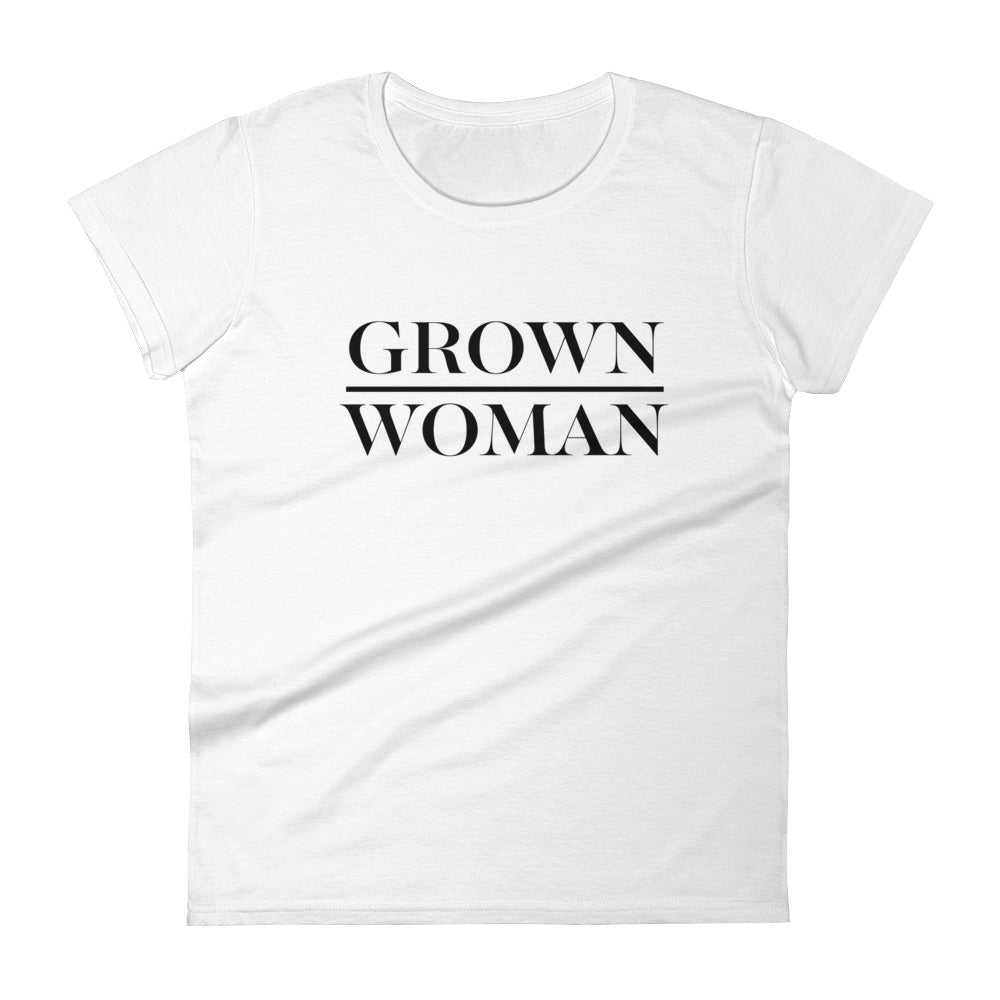 Grown Woman T-Shirt Standard - White