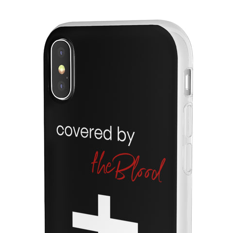 Covered by the Blood iphone Flexi Cases