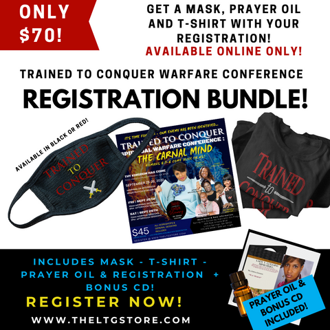 Trained to Conquer 2020 Warfare Conference Registration Bundle