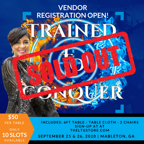 2020 Trained to Conquer Vendor Registration