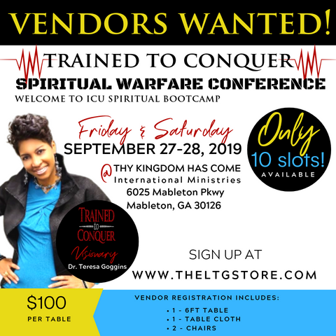 Vendor Registration - Trained to Conquer Warfare Conference 2019