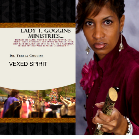 CD:  Vexed Spirit | Dr. Teresa Goggins