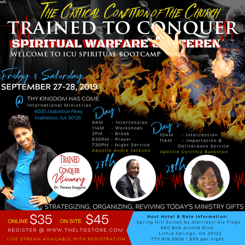 Registration | Trained to Conquer Warfare Conference 2019