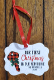 Personalized Creative Borders Aluminum Benelux Ornament