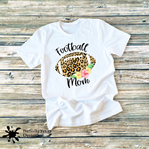 Football Mom Floral