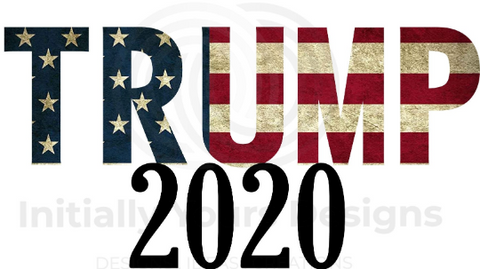 Trump American Flag Digital