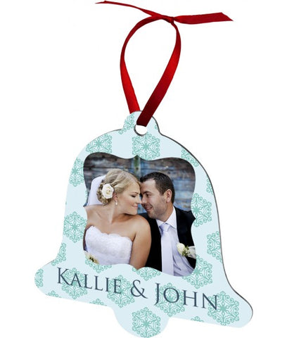 Personalized Bell Aluminum Ornament