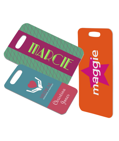 Personalized Gloss Bag Tag