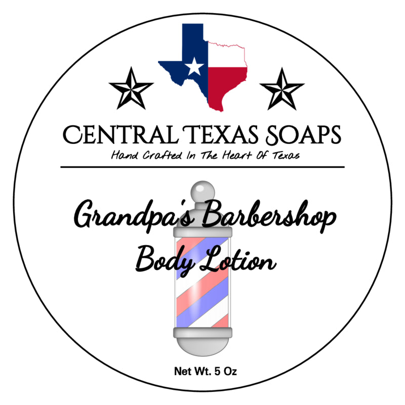 Grandpa's Barbershop Body Lotion