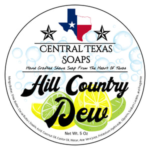 Hill Country Dew Shave Soap