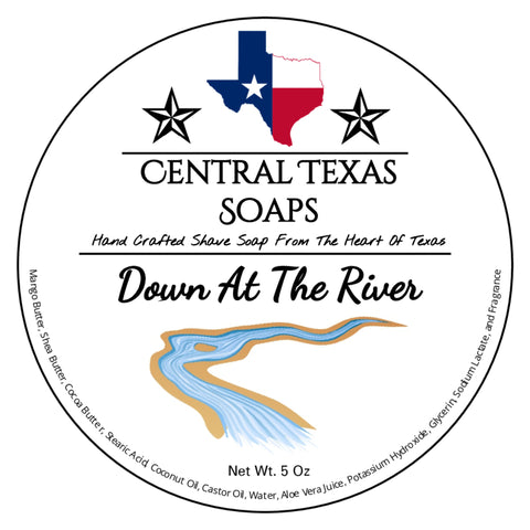 Down At The River Shave Soap