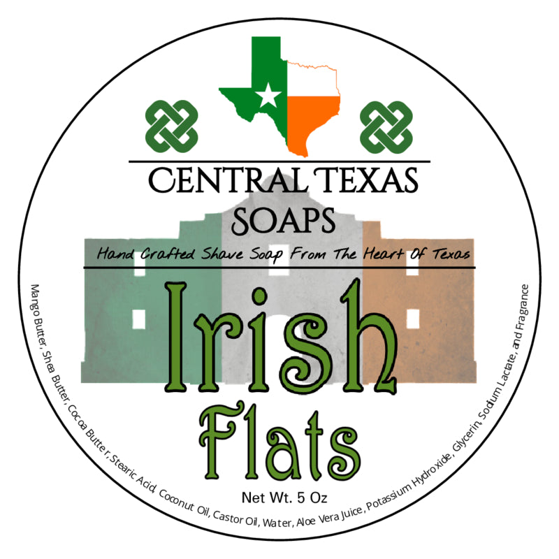 Irish Flats Shave Soap