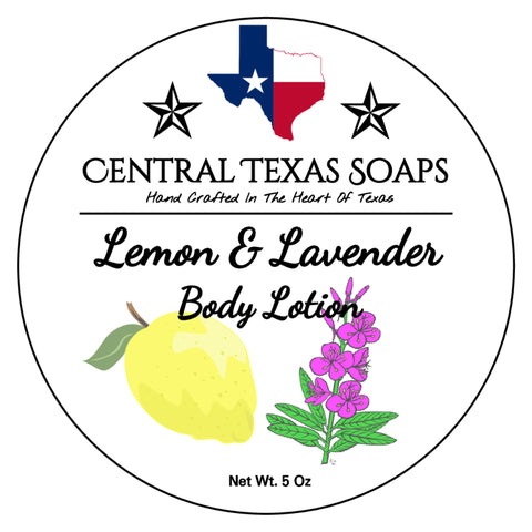 Lemon & Lavender Body Lotion