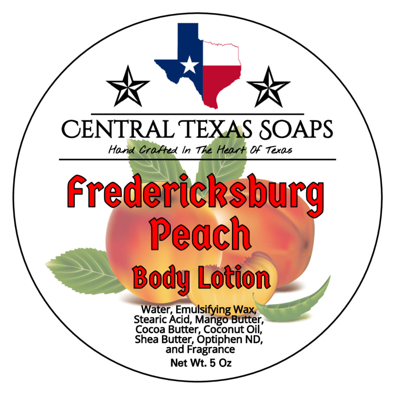 Fredericksburg Peach Body Lotion