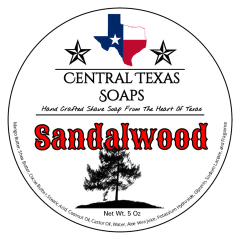 Sandalwood Shave Soap
