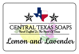 Lemon & Lavender Bar Soap