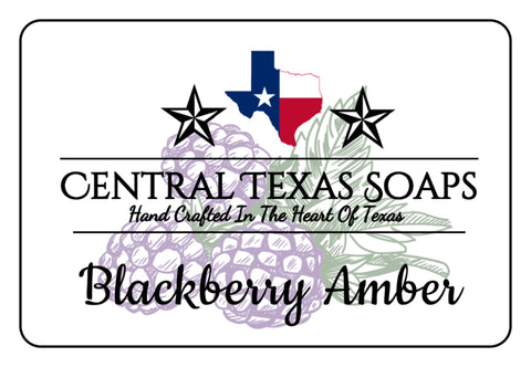 Blackberry Amber Bar Soap