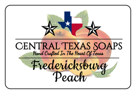 Fredericksburg Peach Bar Soap *Goat's Milk*