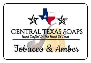 Tobacco & Amber Bar Soap