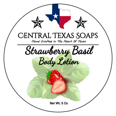 Strawberry Basil Body Lotion