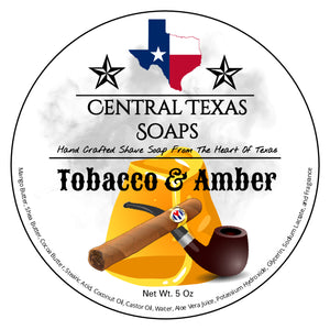 Tobacco & Amber Shave Soap