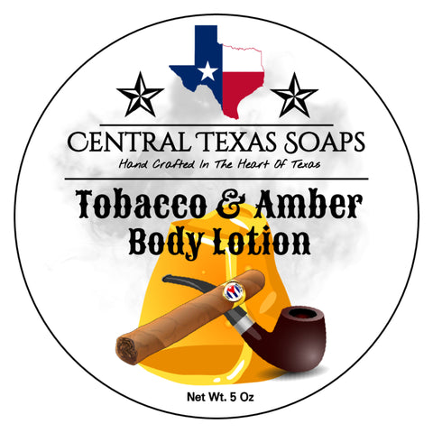Tobacco & Amber Body Lotion