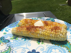 Spice Rubbed Grilled Corn