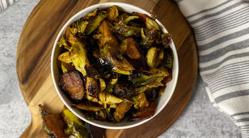 Oven Roasted Barbecue Brussels Sprouts