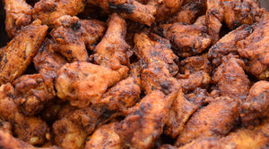 Spicy Baked Dry Rub Wings