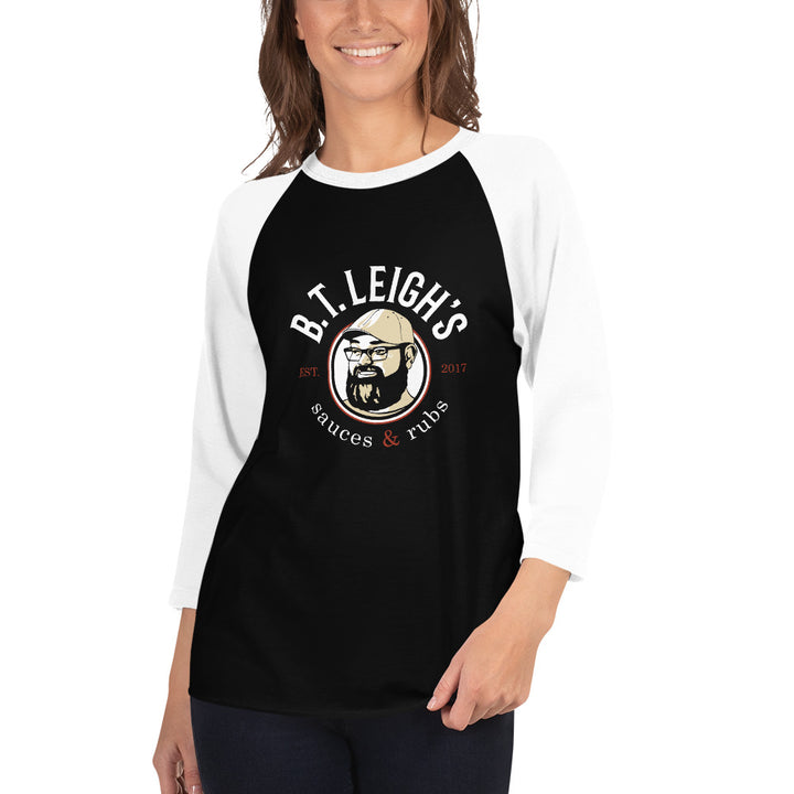 3/4 sleeve raglan shirt - Merch - B.T. Leigh's Sauces and Rubs