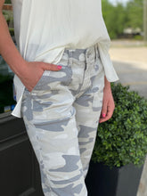 Load image into Gallery viewer, Camo Pant with Jogger Detail