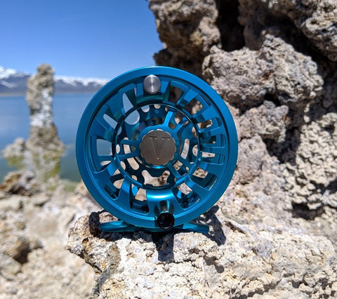 Tufa Reel- 5wt Blue Steel