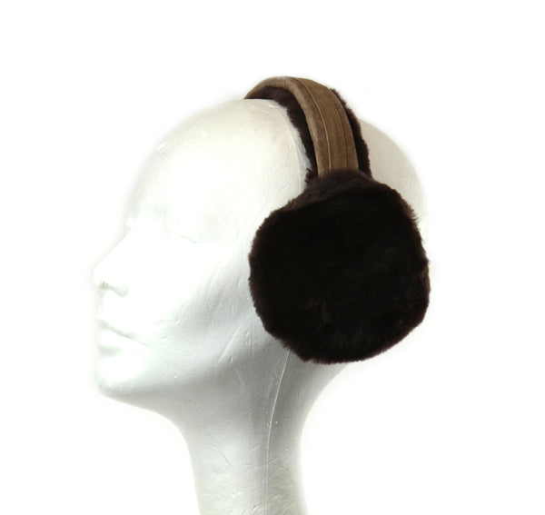 Shearling Ear Muffs by Crown cap 2-86004 2-86009 2-74008