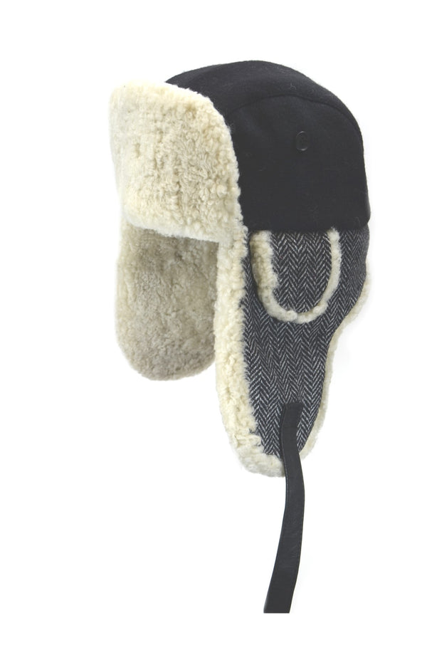 2-86528 Shearling Aviator by Crown Cap