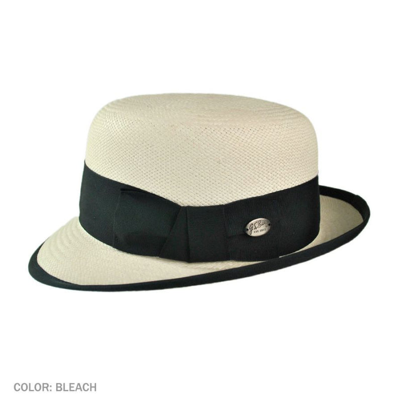 Chaplin Summer Bowler in Genuine Panama by Bailey