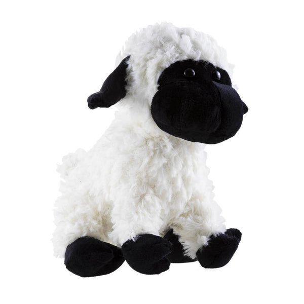 Plush Black and White Wullie sheep