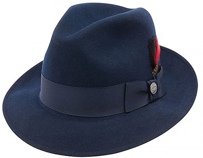 The Frederick Wool Felt Fedora by Stetson