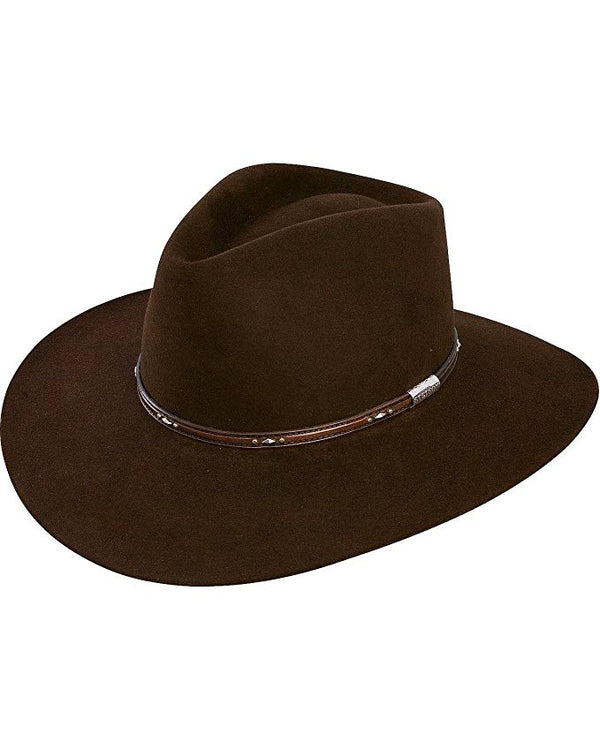 Pawnee 5X fur felt blend Western by Stetson