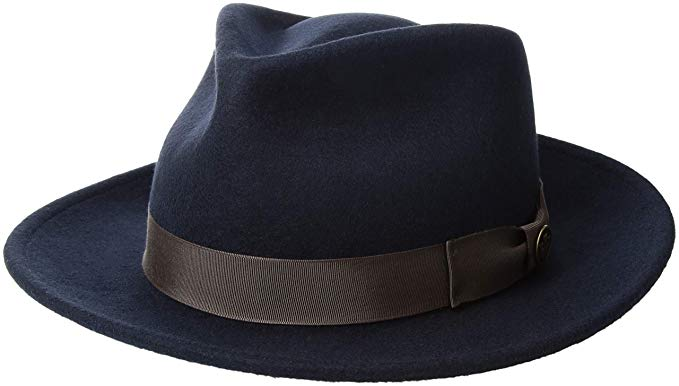 The Saloon wide brimmed fedora by Goorin Bros.