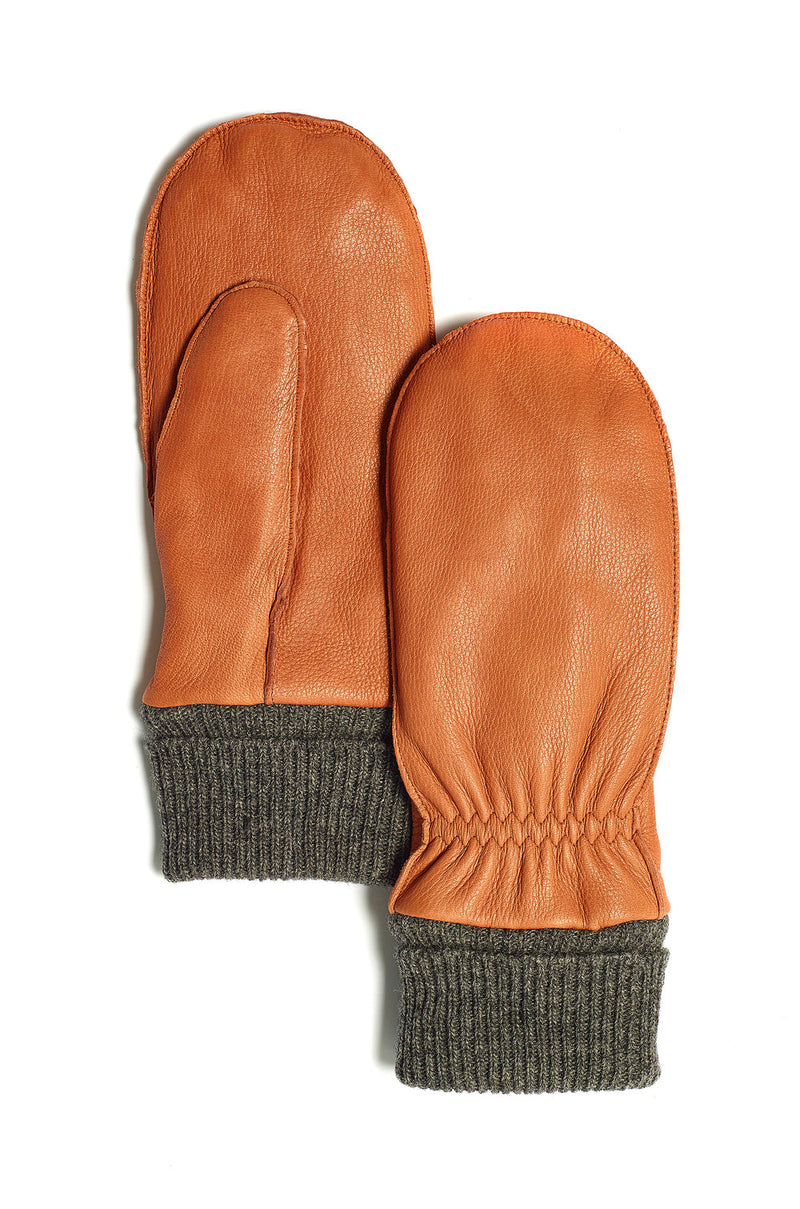 Ladies' Deer Skin Moose Jaw Mitt by Brume BRS1924LM