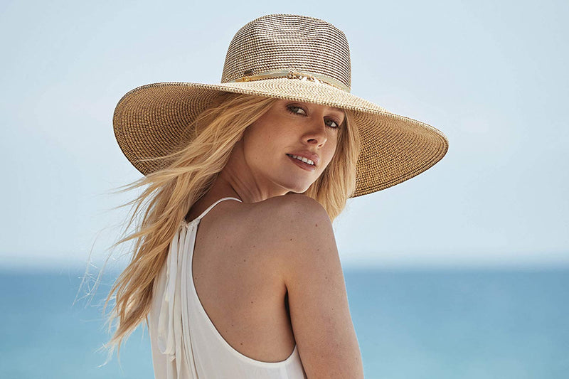 Carmela Sun hat by Scala - LP258