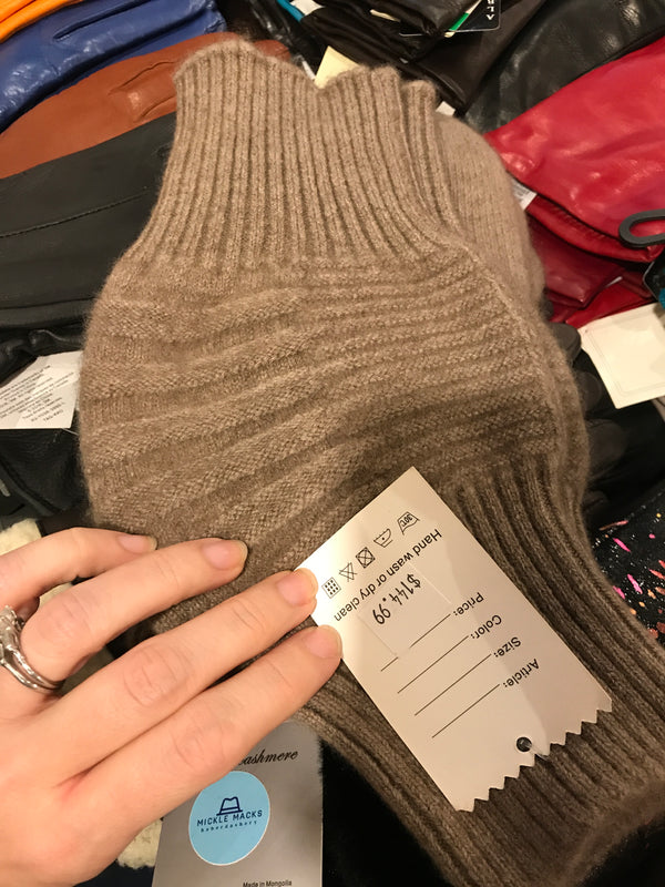 Made in Mongolia Cashmere Leg and Knee Warmers by suvd