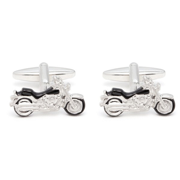 Motorcycle Cufflinks by Christys' of London