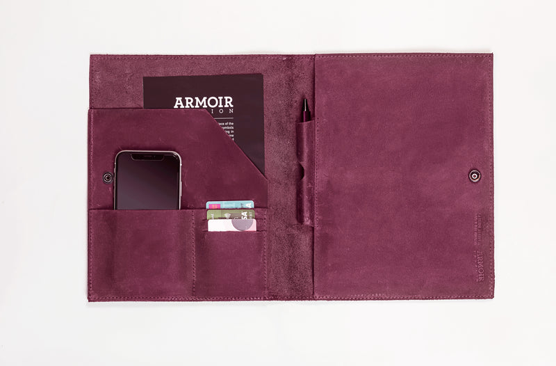 Leather Portfolio by Armoir