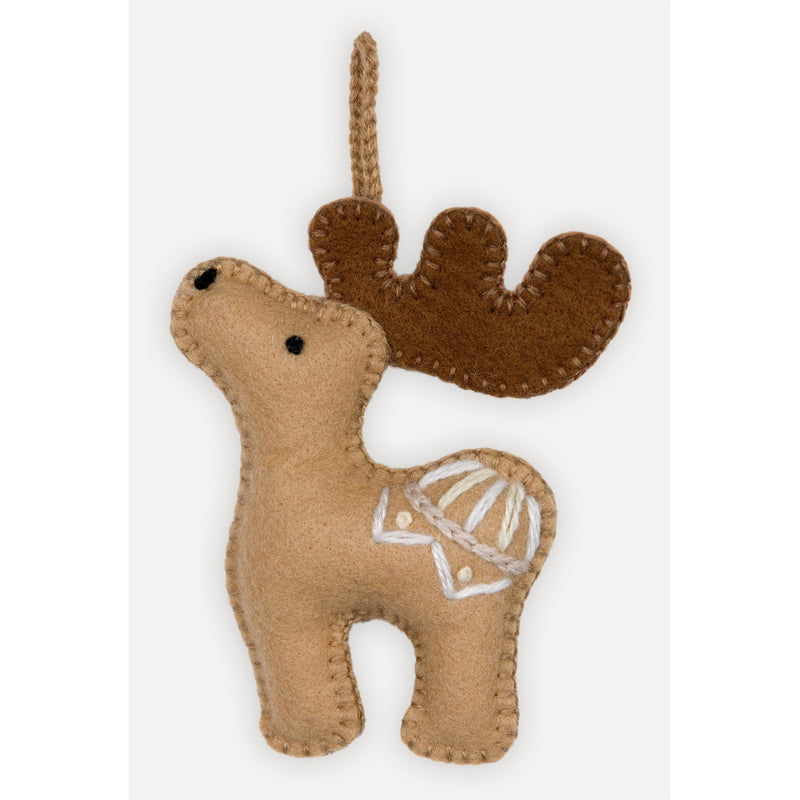 Alpaca Moose Ornament by Pokoloko